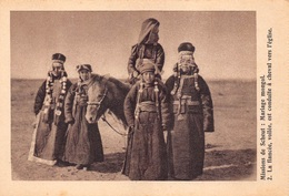 CPA MISSIEN VAN SCHEUT MONGOLIA MONGOLIE MONGOOLSCH HUWELIJK     M 4354 - Mongolia