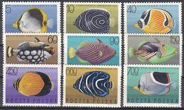 Polen 1967 - Mi.Nr. 1748 - 1756 - Postfrisch MNH - Tiere Animals Fisches Fishes - Fishes