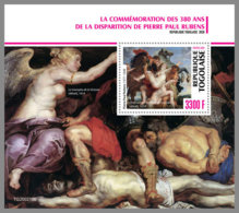 TOGO 2020 MNH 380 Years Peter Paul Rubens Painter Maler Peintre S/S - OFFICIAL ISSUE - DHQ2034 - Rubens