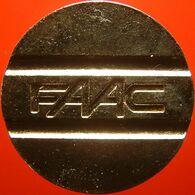 Belg Ptms 3059C - Parkeerpenning FAAC 28.3mm WM - Professionnels / De Société