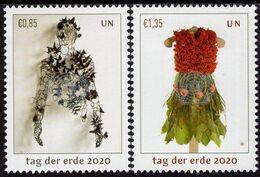 United Nations - Vienna - 2020 - Earth Day - Mint Stamp Set With Varnish - Vienna - Ufficio Delle Nazioni Unite