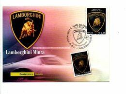 ITALIE CARTE MAXIMUM 2007 LAMBORGHINI MIURA - Cars