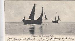 DE PANNE / VISSERSBOTEN 1903 - De Panne