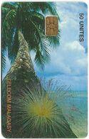 Madagascar - Telecom Malagasy - Coconut Palm - 50Units, AX02, 200.000ex, Used - Madagascar