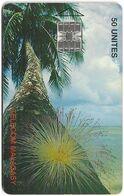 Madagascar - Telecom Malagasy - Coconut Palm - 50Units, SC7, 100.000ex, Used - Madagascar
