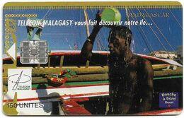 Madagascar - Telecom Malagasy - Shower Time - 150U, SC7, 12.2000, 100.000ex, Used - Madagascar