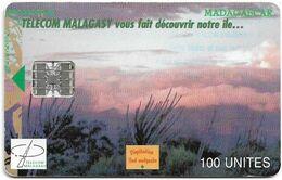 Madagascar - Telecom Malagasy - View Of Madagascar - 100U, 03.1999, 100.000ex, Used - Madagascar