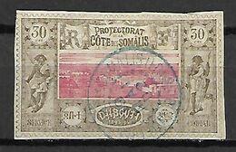 COTE  DES  SOMALIS     -    1894 .   Y&T N° 13 Oblitéré - Usati