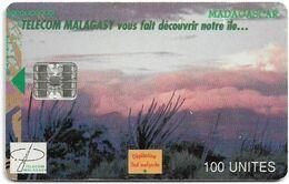 Madagascar - Telecom Malagasy - View Of Madagascar - 100U, 04.2001, 50.000ex, Used - Madagascar