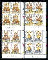 BE   2926 - 2929  XX   ---  Tourisme : Orgues --  Blocs De 4 Coin De Feuille  --  Parfait état - Unused Stamps