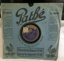 Disque 78 Tours Pathé(Le Roudoudou - D' La Vraie Amour) (Gramophone)(Voir Les Photos)(n°8) - 78 G - Dischi Per Fonografi
