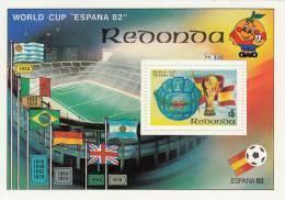 Redonda Hb De Futbol - 1982 – Espagne