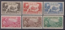 GUYANE : SERIE CENTENAIRE DES ANTILLES N° 137/142 NEUVE * GOMME CHARNIERE - Guyane Française (1886-1949)