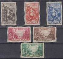 MARTINIQUE : SERIE CENTENAIRE DES ANTILLES N° 155/160 NEUVE * GOMME CHARNIERE - Martinique (1886-1947)