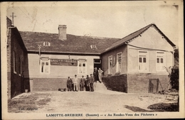 Cp Lamotte Brebière Somme, Au Rendez-Vous De Pêcheurs - Francia