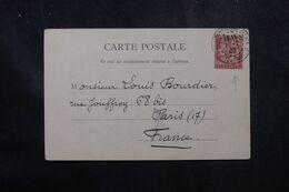 LEVANT FRANÇAIS - Affranchissement Mouchon De Constantinople Sur Carte Postale En 1903 Pour La France - L 68941 - Lettres & Documents