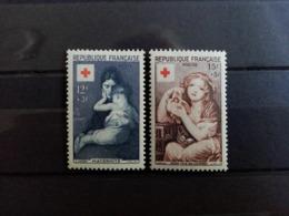 FRANCE.1954. N° 1006. 1007.  CROIX ROUGE   . Côte Yvert 18,00 € - Ungebraucht