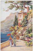 Monaco : MONTE-CARLO : Les Jardins ( Illustration - Illustrateur à Identifier ) - Exotic Garden