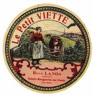 Etiqu.LE PETIT VIETTE R. LANOS Ste Margueirte-de-Viette 14 - Fromage