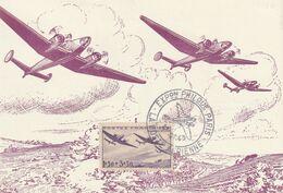 Carte Maximum -  Exposition Philatelique - La Poste Aérienne - Covers & Documents