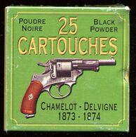 Belle Boite De 25 Cartouches 11 Mm Mle 1873 France - Decotatieve Wapens