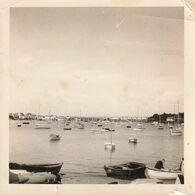 Photo 90 Mm X 90 Mm - 1967 - La Trinité-sur-Mer 56 - Vue Sur Le Port  - Scan R/V - Places