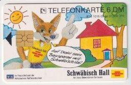 TK 26842 GERMANY - Chip K1016 08.93 Schwäbisch Hall 31 500 Ex. - Allemagne