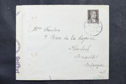 TURQUIE - Enveloppe De Istanbul Pour La Belgique En 1940 Avec Contrôle Postal Allemand - L 68953 - Briefe U. Dokumente
