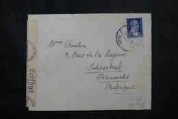 TURQUIE - Enveloppe De Istanbul Pour La Belgique En 1940 Avec Contrôle Postal Allemand - L 68954 - Briefe U. Dokumente