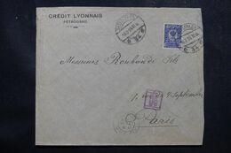 RUSSIE - Enveloppe Commerciale De Pétrograd Pour La France En 1916 Avec Contrôle Postal  - L 68958 - Storia Postale