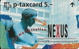 Switzerland: PTT-p KF-397 609L Nexus, Personal & Unternehmensberatung AG - Schweiz