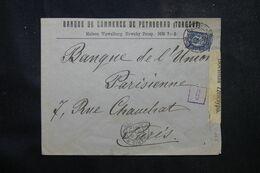 RUSSIE - Enveloppe Commerciale De Pétrograd Pour La France En 1916 Avec Contrôle Postal  - L 68962 - Storia Postale
