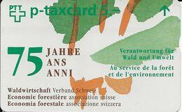 Switzerland: PTT-p KF-188 531L Verband Schweiz. Waldwirtschaft - Schweiz