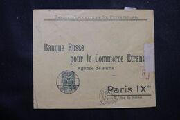 RUSSIE - Enveloppe Commerciale De St Petersbourg Pour La France En 1916 Avec Contrôle Postal  - L 68964 - Storia Postale