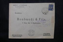 RUSSIE - Enveloppe Commerciale De St Petersbourg Pour La France En 1915 Avec Contrôle Postal  - L 68965 - Storia Postale