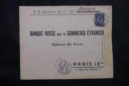 RUSSIE - Enveloppe Commerciale De Petrograd Pour La France En 1916 Avec Contrôle Postal  - L 68966 - Storia Postale
