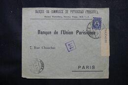 RUSSIE - Enveloppe Commerciale De Pétrograd Pour La France En 1916 Avec Contrôle Postal  - L 68975 - Storia Postale