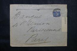 RUSSIE - Enveloppe Commerciale De Pétrograd Pour La France En 1916 Avec Contrôle Postal  - L 68976 - Storia Postale