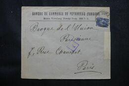 RUSSIE - Enveloppe Commerciale De Pétrograd Pour La France En 1916 Avec Contrôle Postal  - L 68977 - Storia Postale