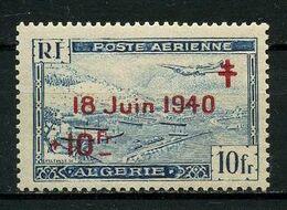 ALGERIE 1947 P.A. N° 7 ** Neuf MNH Superbe C 2.10 € Appel Du Général De Gaulle Avions Bateaux Plane Ships - Algeria (1962-...)