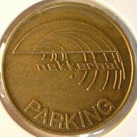Belg 3550B - Parkeerpenning Nekkerhal Parking - Rev. (blank) - 25mm B - Mechelen - Professionnels / De Société