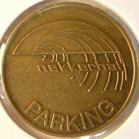 Belg 3550B - Parkeerpenning Nekkerhal Parking - Rev. (blank) - 25mm B - Mechelen - Unternehmen