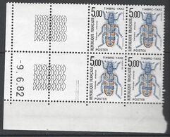 CD 112 FRANCE 1982 TIMBRE TAXE COIN DATE 112 : 9 / 6 / 82  TRICODES ALVEARIUS - Portomarken