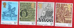 BRITISH PRINTING Buch Druk (Mi 719-722) 1976 POSTFRIS MNH ** ENGLAND GRANDE-BRETAGNE GB GREAT BRITAIN - 1952-.... (Elizabeth II)