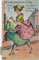 03  Vichy  Carte A Systeme Avec   Depliant 10 Vues  Ouvre Mon Carton - Vichy