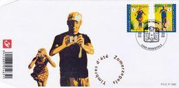 Enveloppe FDC 3909 3910 Timbres D'été Herentals - FDC