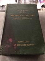 Cours De Mécanique élémentaire à L'usage Des écoles Industrielles ( Livre De 1243 Pages De 12,5 Cm Sur 19 Cm) - Books, Magazines, Comics