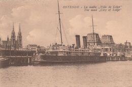 OOSTENDE /  MAILBOOT - Oostende