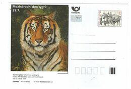 Czech Republic 2020 - Bengal Tiger, Special Postcard, MNH - Félins
