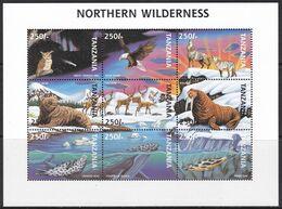 Tanzania, Fauna, Animals, Birds / MNH / 1997 - Sonstige